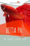 Correct Betta pH Level